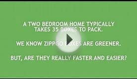 ZippGo Green Moving Boxes vs. Cardboard Moving Boxes